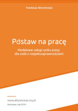 Broszura – Modelowe usługi rynku pracy dla osób z niepełnosprawnościami