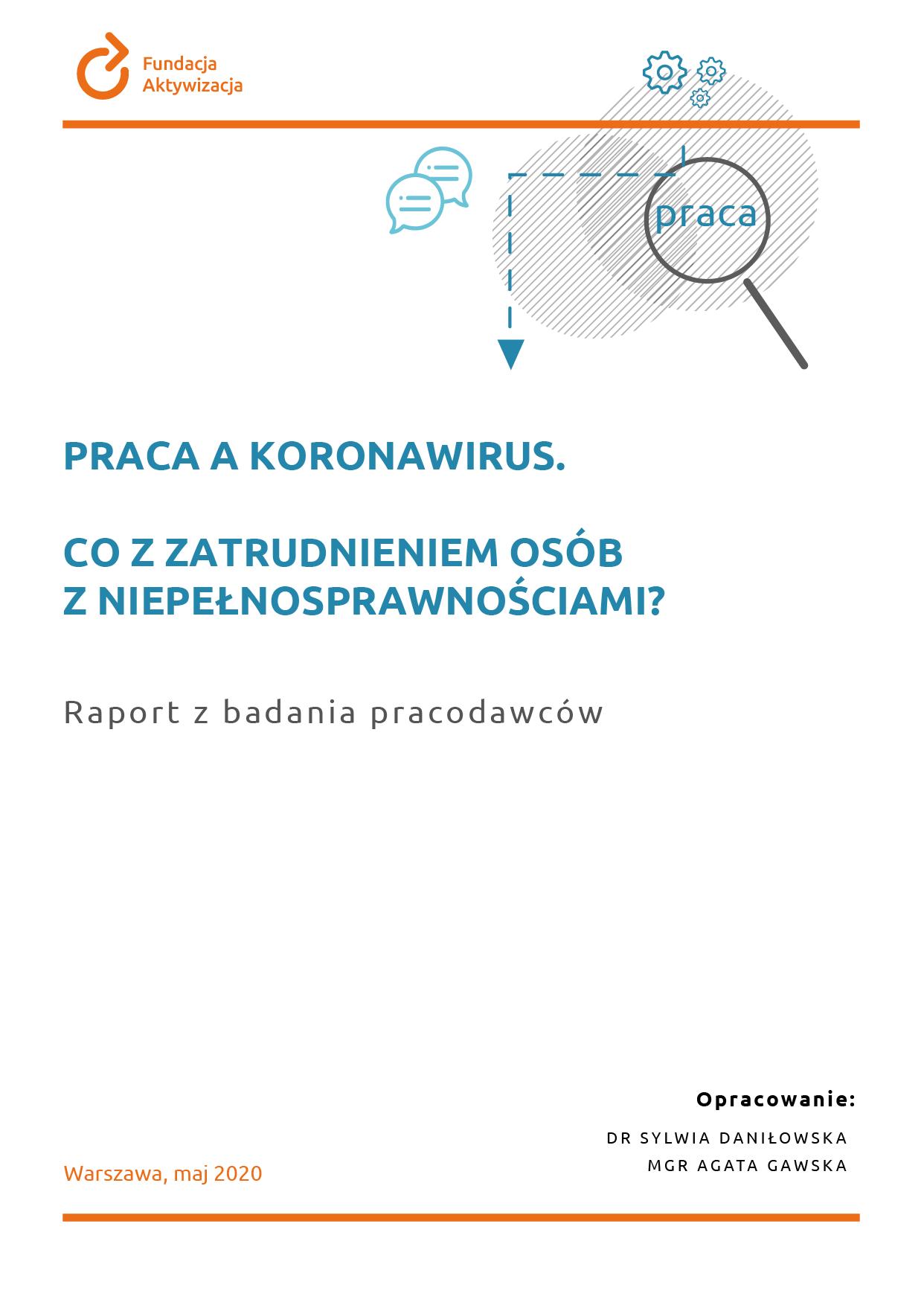 Pierwsza edycja badania pracodawców: Praca akoronawirus. Co zzatrudnieniem osób zniepełnosprawnościami?