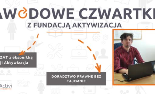 Czat zEkspertem Fundacji Aktywizacja – doradztwo prawne