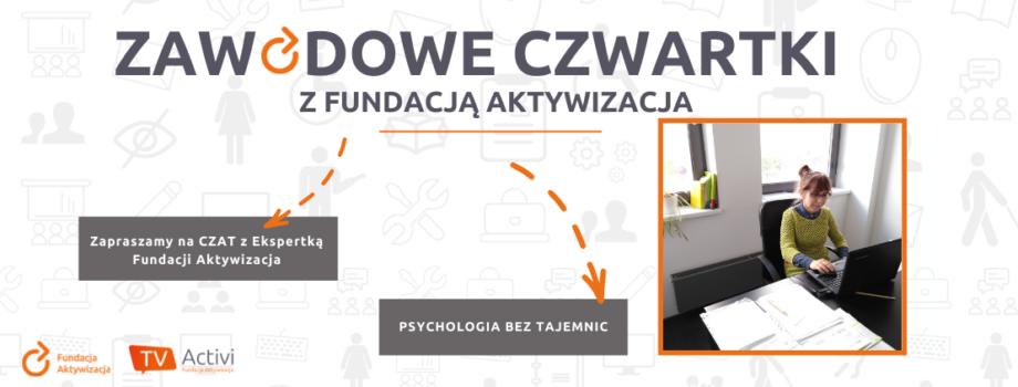 Czat zEkspertką Fundacji Aktywizacja – doradztwo psychologiczne