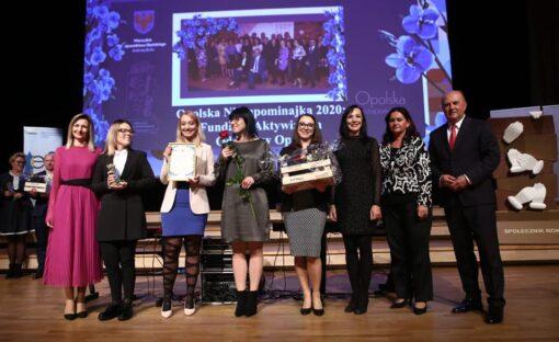 Oddział wOpolu został Laureatem Opolskiej Niezapominajki 2020